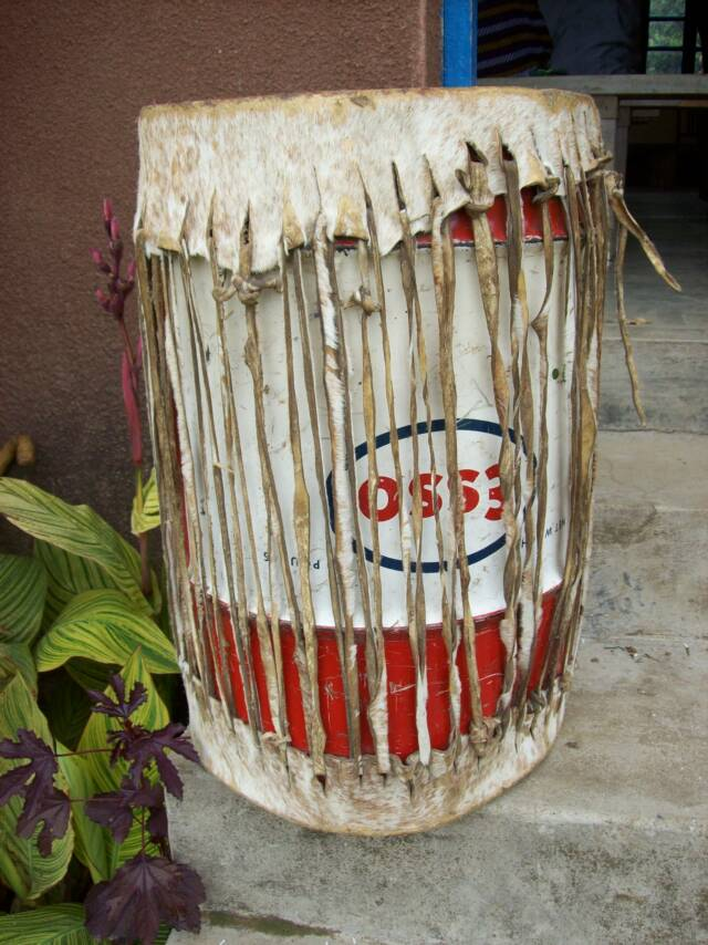 A drum from Tanzania